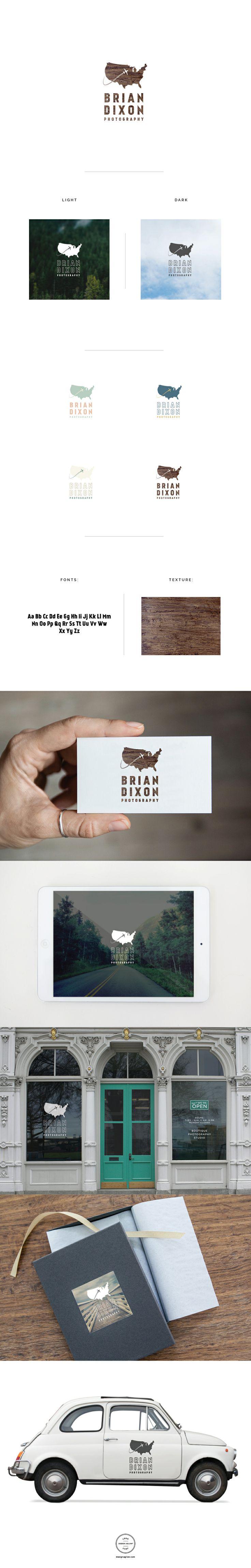 Brian Dixon #photographerlogo #instantlogo #logoshop #greatlogos #branding #photoshoptemplates #prophotography #logo