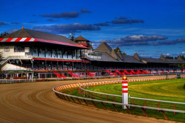 Saratoga Race Track. Check out Pete's review of Ian Fleming's Diamonds Are Forever here: http://chaptersandscenes.wordpress.com/2014/06/10/pete-reviews-diamonds-are-forever/