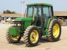 John Deere 6400 4WD Utility Ag Farm Tractor A/C Cab 16 Speed 85HP PTO 3-PT Hitchfinance tractors www.bncfin.com/apply