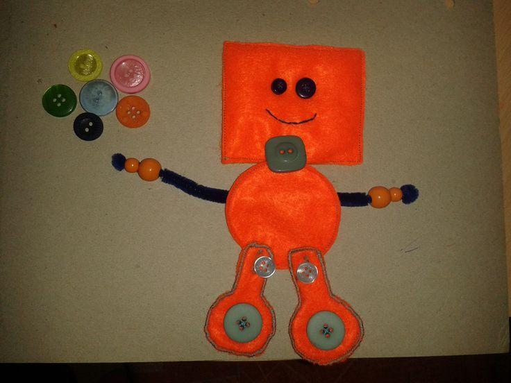 """Quietbook """"Roboter"""""""
