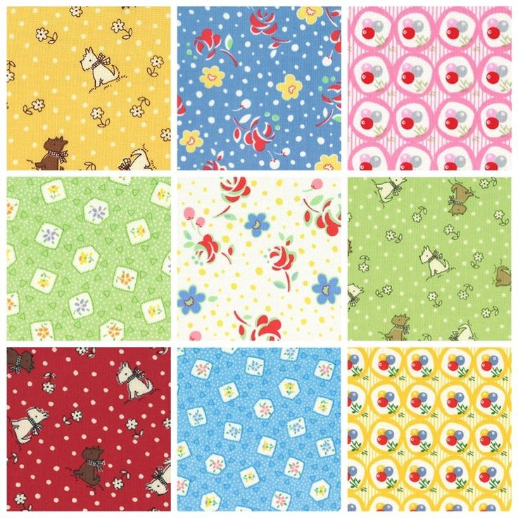 Lecien retro 30 39 s child smile fabric bundle save 10 for Childrens fabric bundles