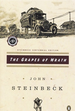 the desperate conditions of the american migrant families in john steinbecks the grapes of wrath The grapes of wrath is an american realist tom and casy go to uncle john's tom finds his family loading their ken eckert even compared the migrant's movement.