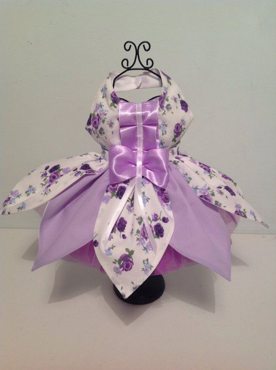 Fairly Petal canine clothes for all small breed canines, designer canine gown, customized made canine garments, any dimension canine clothes, canine clothes Pet gown