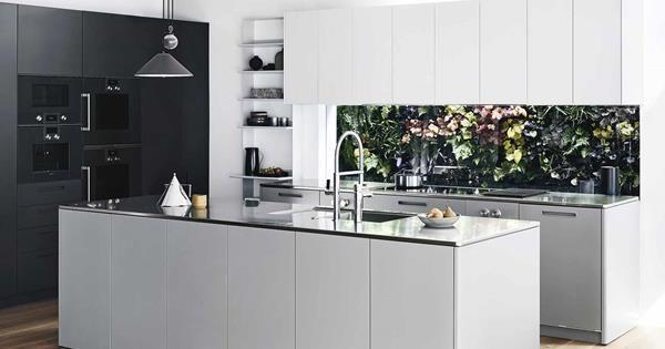 A Modern Sleek Kitchen Design For The Contemporary Home Sleek Kitchen Design Sleek Kitchen Kitchen Design Open