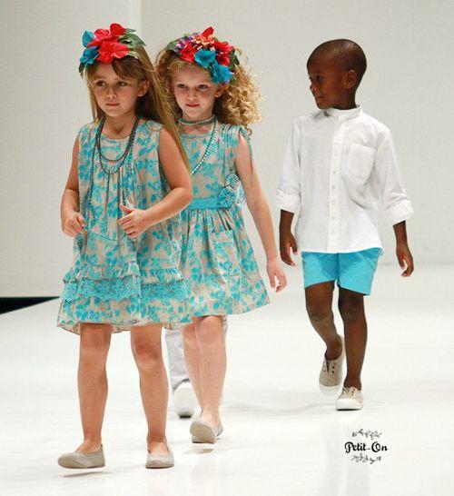 OH SOLEIL MODA INFANTIL  Tendencia en moda Infantil Turquesa