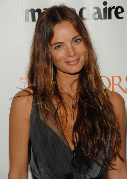 Gabrielle Anwar. My hair is just a tad bit longer, but very similar otherwise.