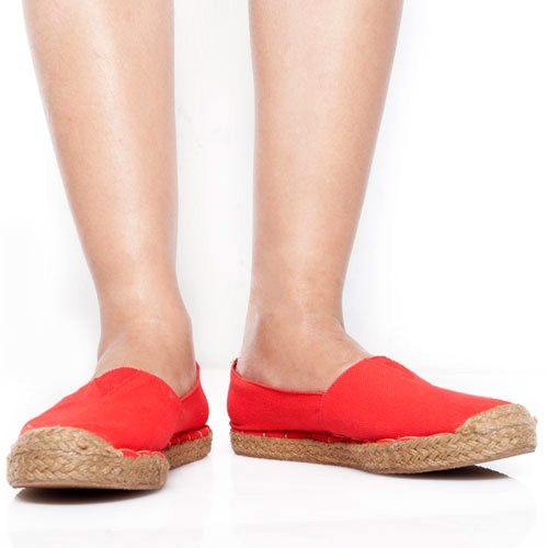 Eight Shoes - Jenny Red Espadrille Flat - Rp. 164.700