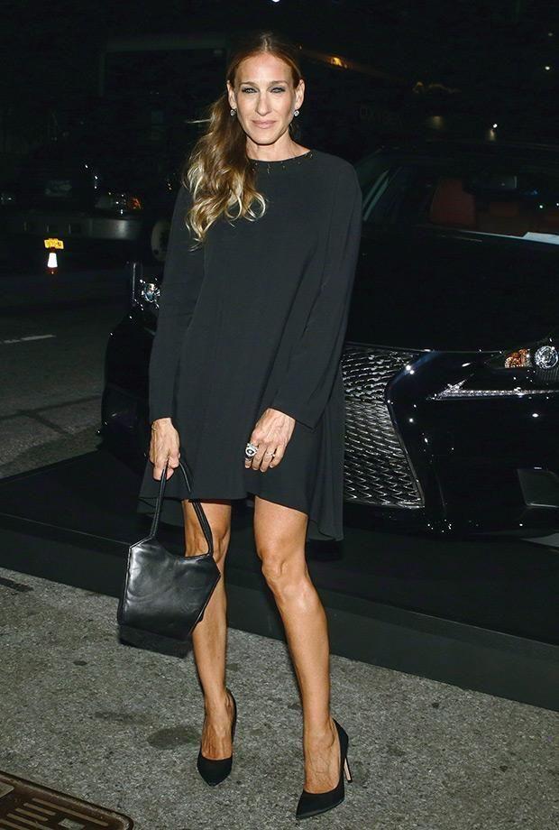Sarah Jessica Parker wearing an LBD
