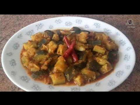 Calabacitas guisadas ,rica rapidaكرعة مشرملة/comida de Marruecos