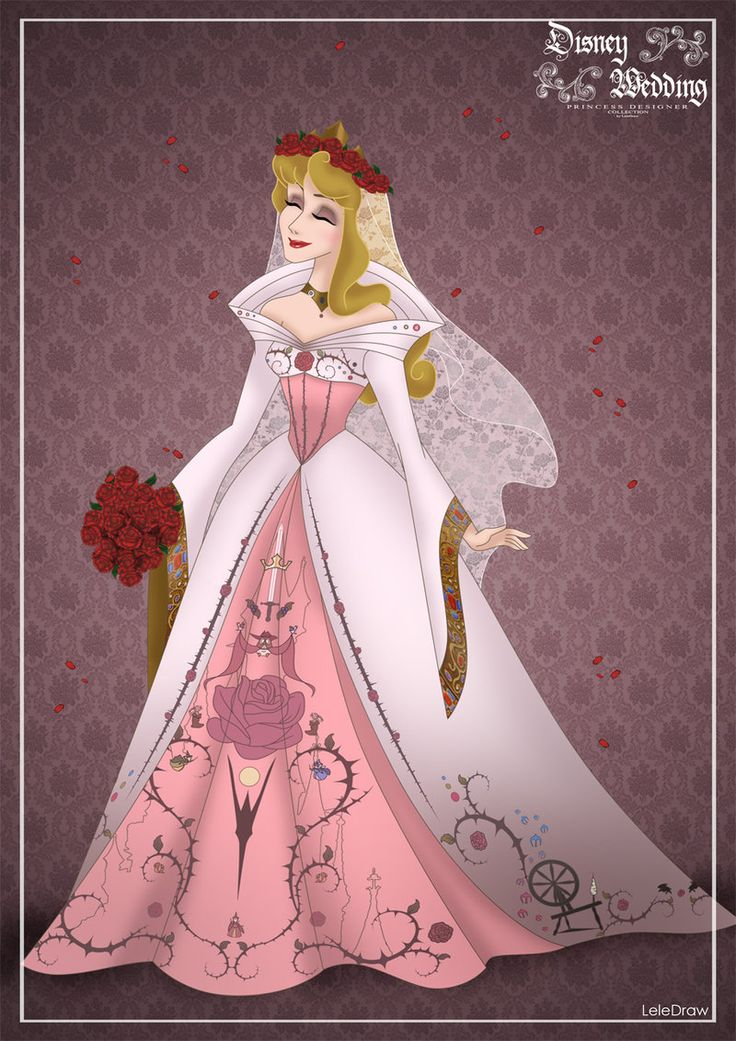 Princess Wedding Princess AuroraDisney designer collection by Lele Draw (Visit my page Here)