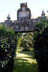 Detalle de la entrada del pazo Quinteiro da Cruz de Ribadumia, propiedad privada pero visitable previa cita telefónica FOTÓGRAFO: martina miser