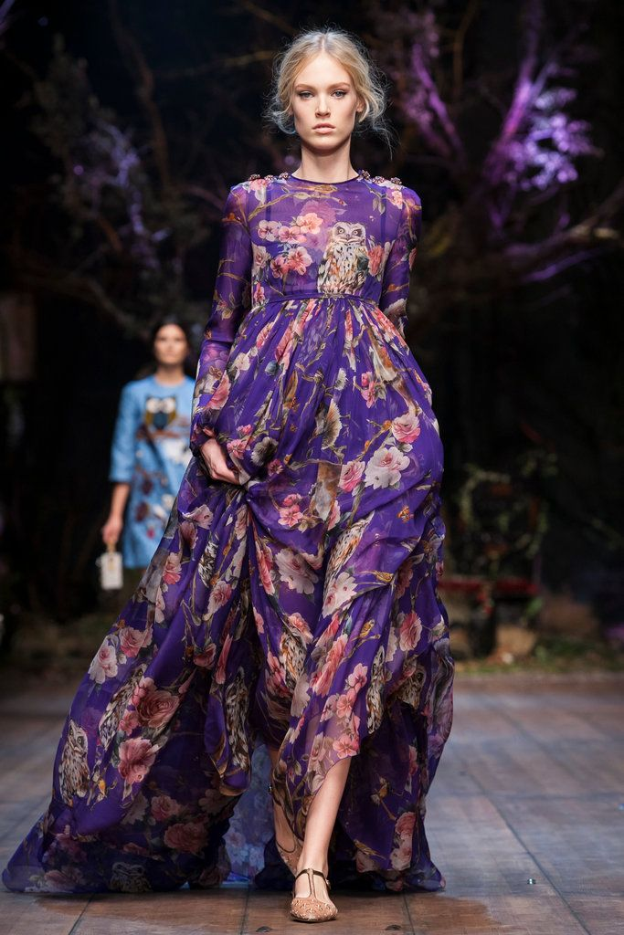 A look from the Dolce & Gabbana Fall 2014 RTW collection.