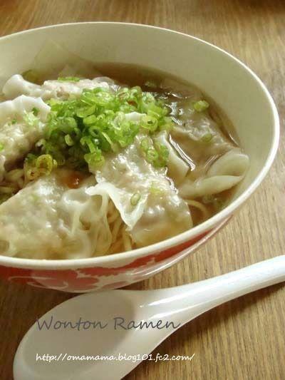 ワンタン麺。 by Omamamaさん | レシピブログ - 料理ブログのレシピ満載!