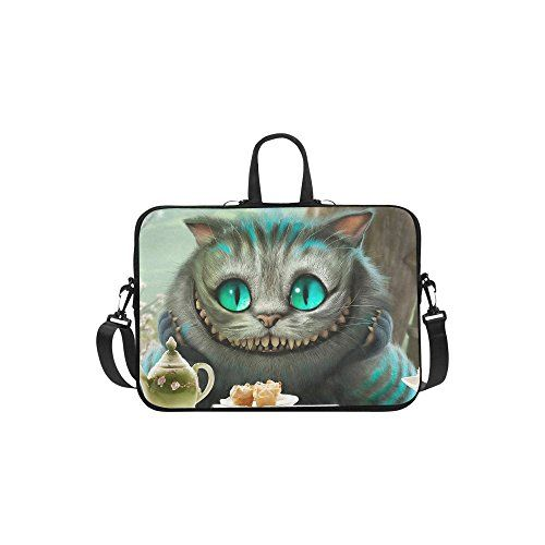 "Chesire Cat Sleeve Case Messenger Bag for Laptop 10"" 11"" ... https://www.amazon.com/dp/B01MSSSS1B/ref=cm_sw_r_pi_dp_x_H.3rybFDBA6MG"