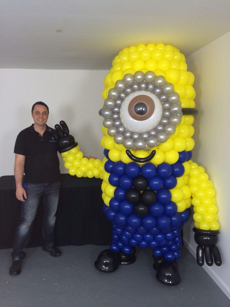 Minion balloon sculpture