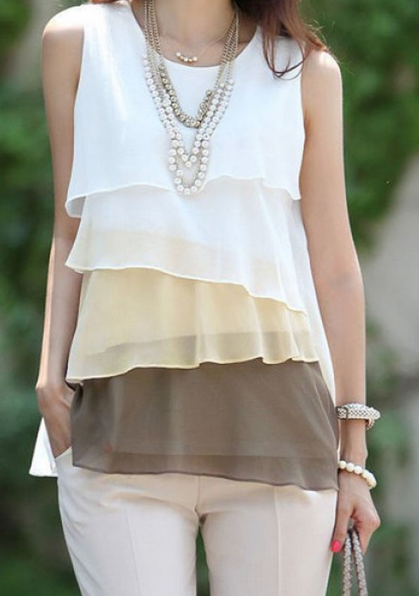 lovely tiered tank