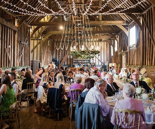 Wedding Breakfast At Lillibrooke Manor Country House Venue In Berkshire