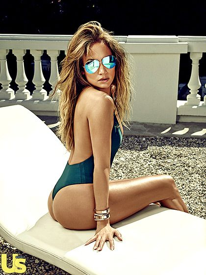 The Song Said It First… Photo - Jennifer Lopez's Us Weekly Cover Shoot: See Her Fierce Bikini Body! - Us Weekly