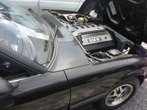 SOLD 1985 Mazda RX 7 GSL  with BMW M50 6 Cylinder motor transplant