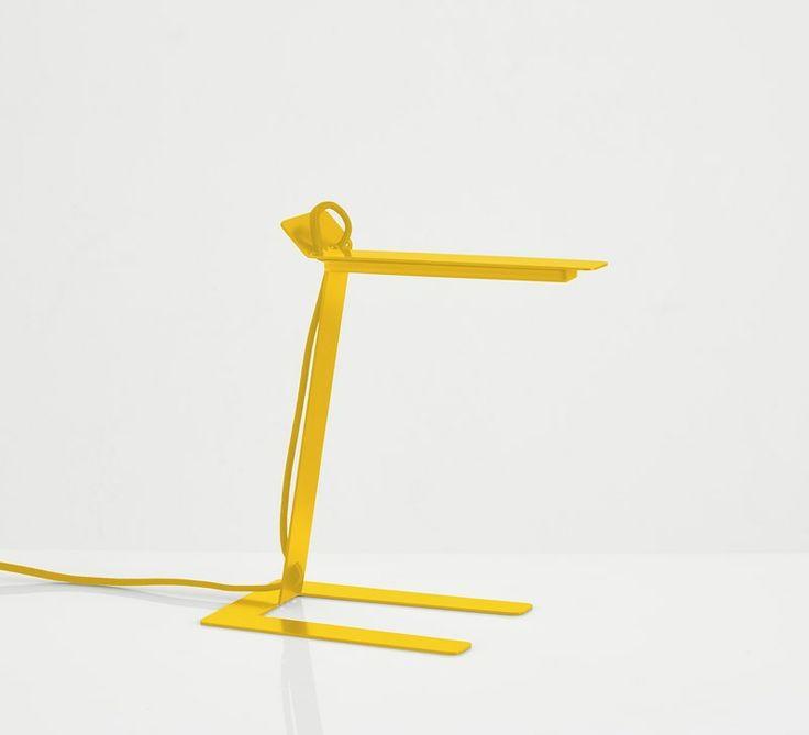 Benshee, yellow • Designed by Jannis Ellenberger #tablelamp #lamp #light #design #WOUDdesign