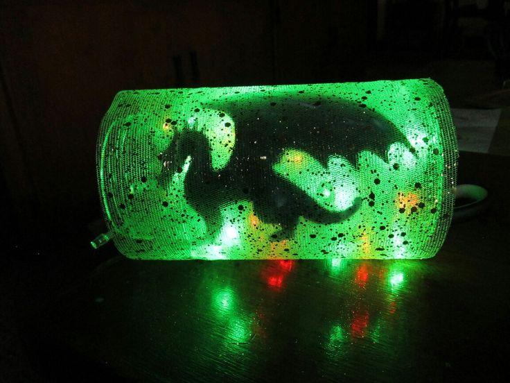 dragon light green