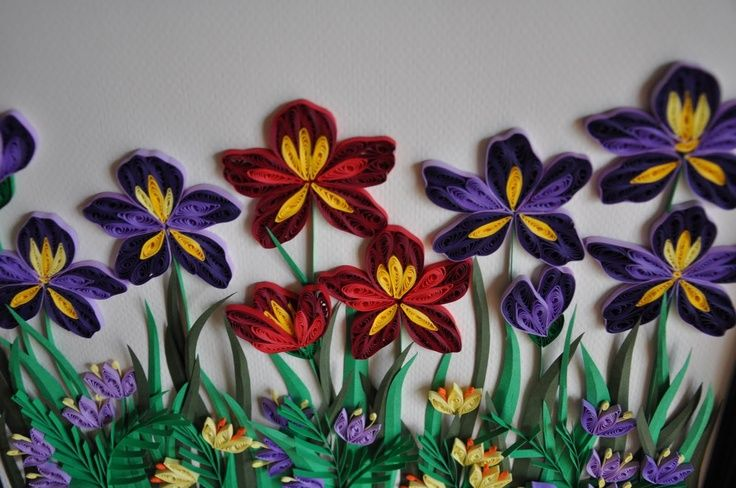 Paper quilling flowers wallpapers hd walls find - Paper quilling art wallpapers ...