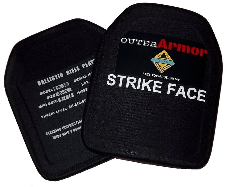 Now in the Gun Industry Marketplace-OuterArmor Level III Body Armor Plates #2a #guns # bodyarmor #prepping #