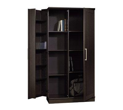 Sauder Homeplus Deep Storage Cabinet Dakota Oak For The Home Pinterest The Office