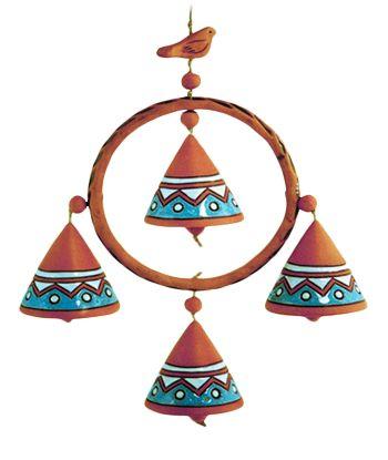 56 Best Ceramic Bells Images On Pinterest Ceramic Clay