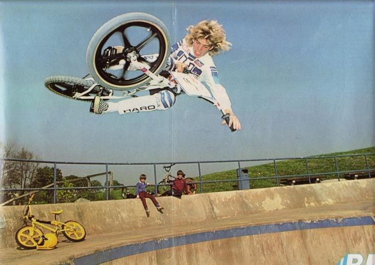 HARO BMX COLLECTOR Mike Dominguez Bmx freestyle, Bmx