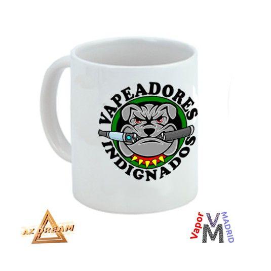 www.vapor-madrid.es linea Merchandising vapeo  Taza Vapeadores Indignados  Nuestras tazas AZ-Dream con foto, son aptas para lavavajillas, es el regalo ideal para tus colegas. Tazas personalizadas blancas de diseño, de cerámica de gran calidad, son muy populares también para el hogar. Crea tu propia colección de tazas de vapeo para toda la familia y amigos.  http://vapor-madrid.es/tienda/tazas/1103-taza-vapeadores-indignados.html