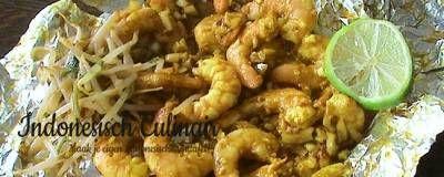 Pepesan Udang - Indonesisch recept   m.indonesisch-culinair.nl