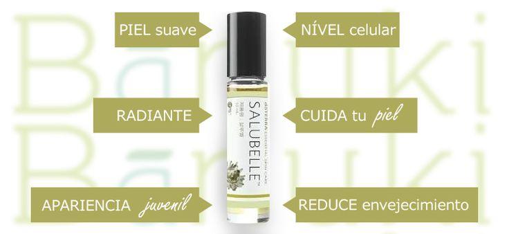 Con #salubelle puedes lucir una piel más #radiante y #suave ya que su mezcla realizada con #aceites #esenciales mejora la apariencia a nivel #celular   ¡Vive naturalmente!