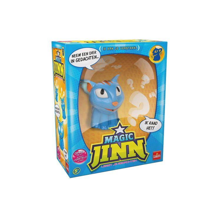 Magic Jinn weet waar jij aan denkt! Neem een dier in gedachten en beantwoord de vragen die Magic Jinn je stelt… raadt hij het dier? Dan heeft Magic Jinn gewonnen. Maar ben jij dit grappige nieuwe vriendje te slim af en raadt hij het verkeerd? Dan ben jij de winnaar! Nederlands gesproken.Dowload de iOS app voor een heleboel bonusmateriaal.Features:- Magic Jinn probeert je gedachten te lezen.- Neem een dier in gedachten en Magic Jinn raadt wat het is door je vragen te stellen.- Hij geeft…