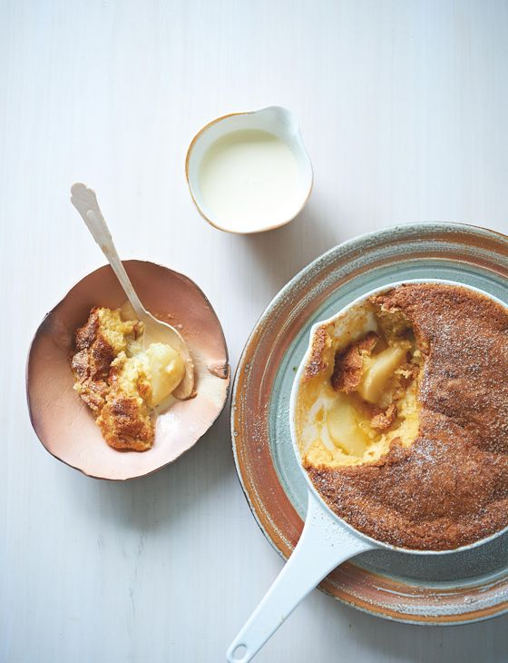 Bill Granger's ginger pear upside-down pudding - Sainsbury's Magazine