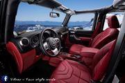 jeep wrangler sahara unlimited by vilner - 539290 Love the red interior