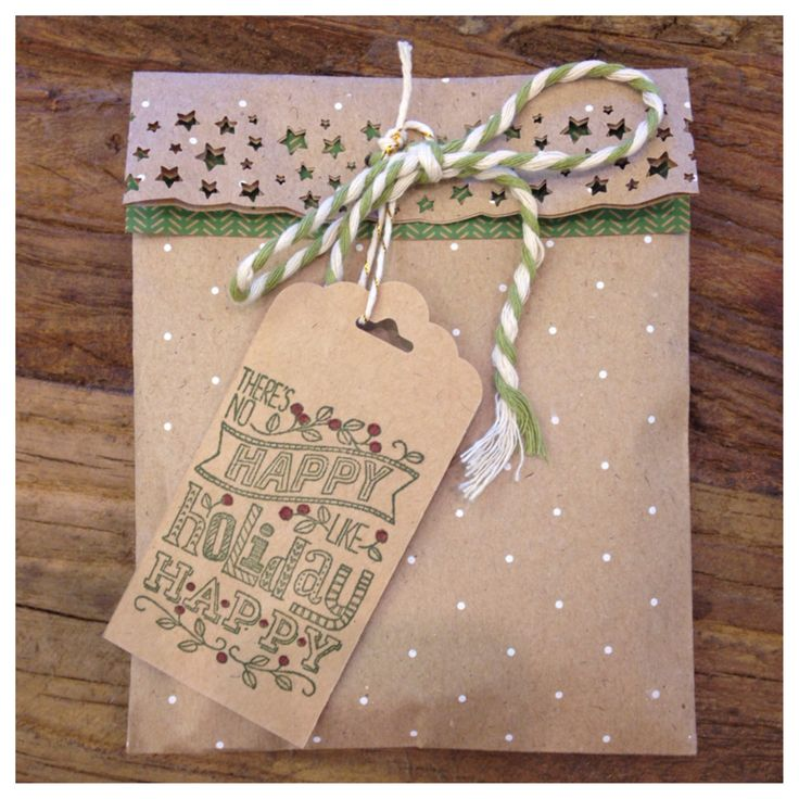 Gift packaging ideas!