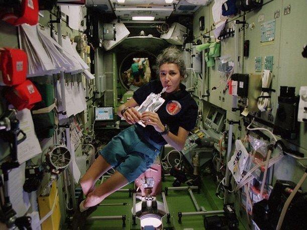 Fue la primera europea en arribar a la Estación Espacial Internacional. (Foto: NASA)