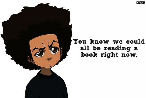 #the boondocks  #huey freeman