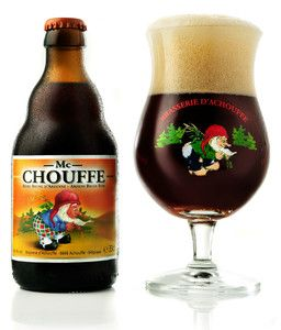 Mc Chouffe Belgian beer