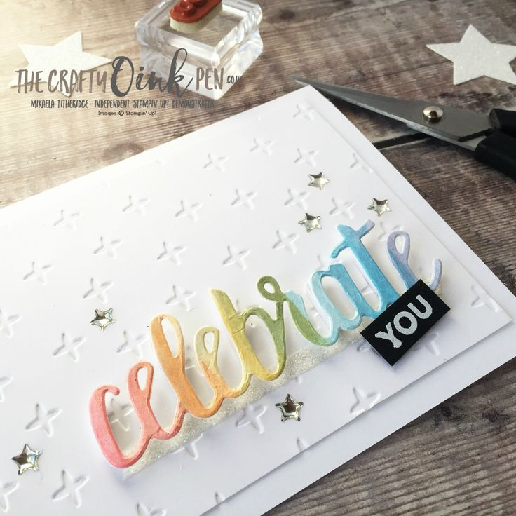 Celebrate Amazing You with this Blog Hop of the Alaska Achievers by Mikaela Titheridge, #6UK Independent Stampin' Up! Demonstrator, The Crafty oINK Pen. Supplies available through my online store 24/7