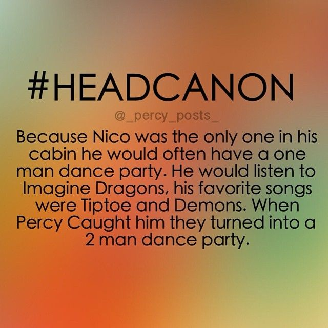2 man dance party. I told you! Imagine Drangons writes all their songs about Nico!