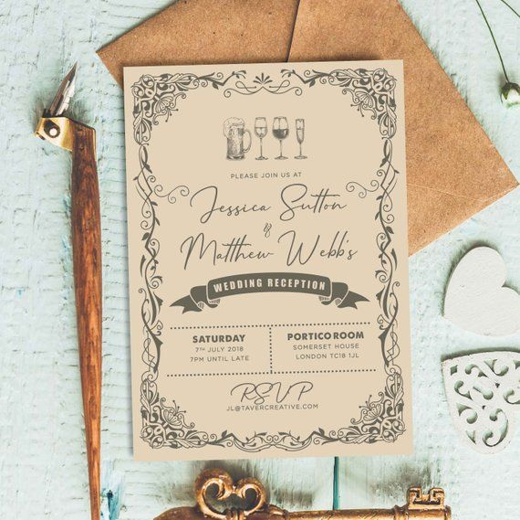 Rustic Wedding Invitation Floral Wedding Invites Wedding Etsy Floral Wedding Invitations Western Wedding Invitations Barn Wedding Invitations