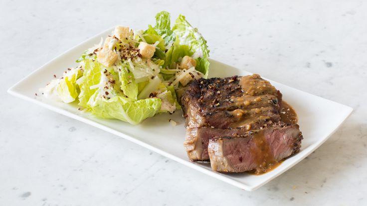Bifteck style Montréal