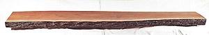 Live Edge Fireplace Mantel Mantle Shelf Beam Rustic Primitive Walnut