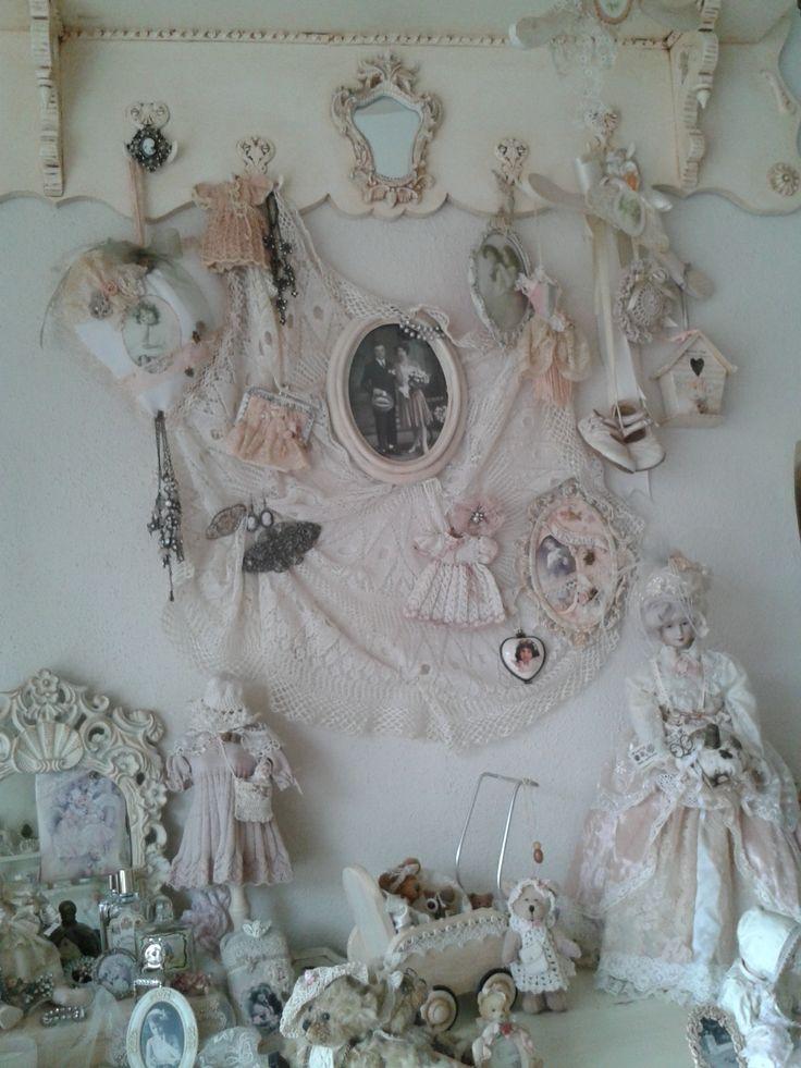 Volop decoratie..