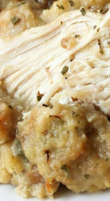 how to make chicken and stuffing in crock pot