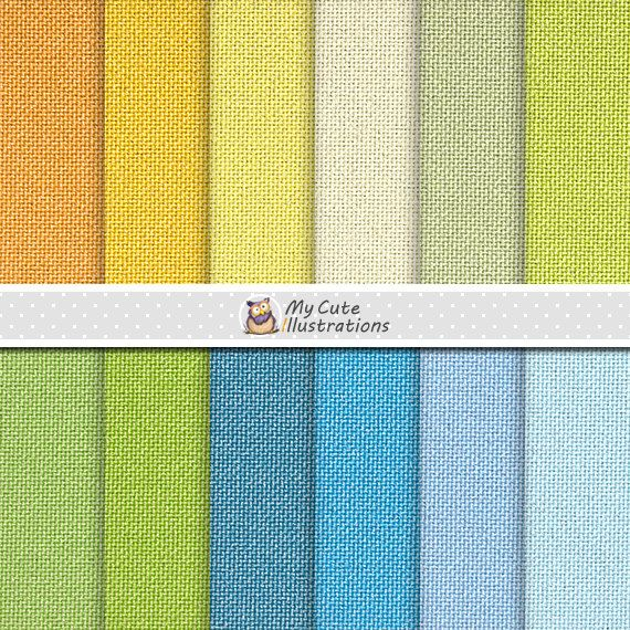Linen summer digital paper with linen, burlap, jute texture in summer colors…