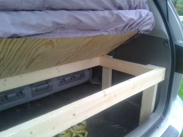 Convertible Bed for a Honda Odyssey