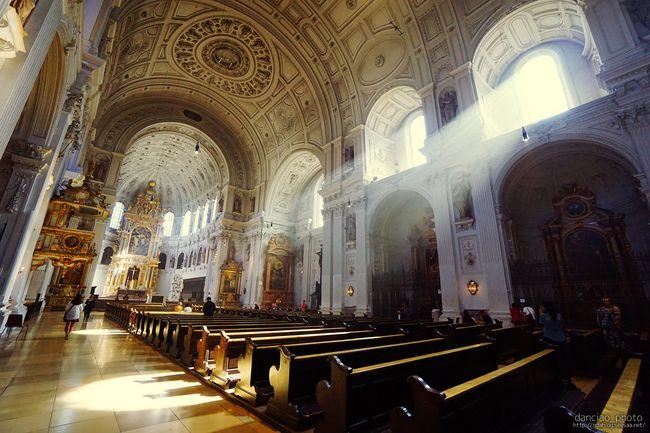ドイツ ミュンヘン 聖ミヒャエル教会